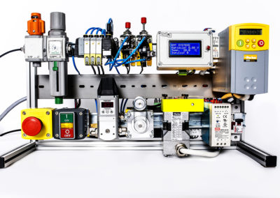 Advanced PLC with Electro-pneumatics